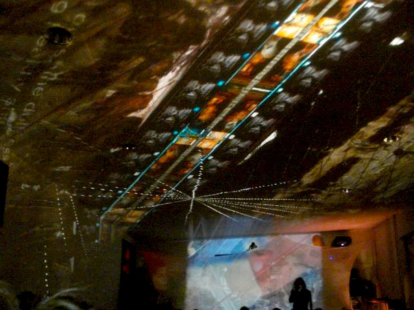 Projections by Colin Manning with Fancy Space People, Saccharine Trust, and Resdiual Echoes @ the Two-Headed Horse, Los Angeles, 2010